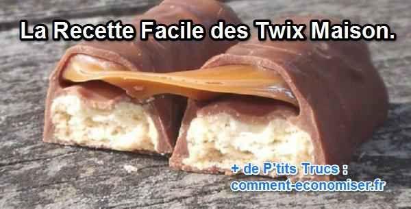 Je ne sais pas vous, mais le twix est l'un de mes gâteaux préférés. Ce caramel et ce sablé croustillant me font fondre. Tellement fondre que je les trouve toujours trop petits.  Découvrez l'astuce ici : http://www.comment-economiser.fr/recette-twix-maison.html?utm_content=bufferb86db&utm_medium=social&utm_source=pinterest.com&utm_campaign=buffer