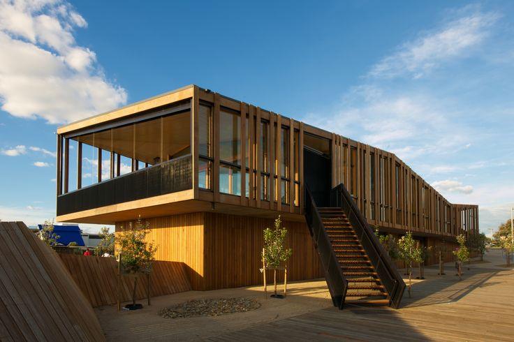 jackson clements burrows architects / keast park community pavilion, seaford