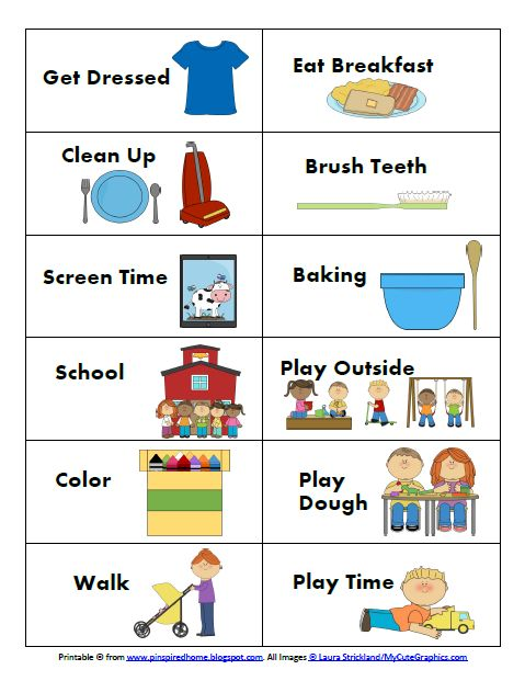 Daily Visual Schedule For Kids - C # ile Web\u0027 e Hükmedin!