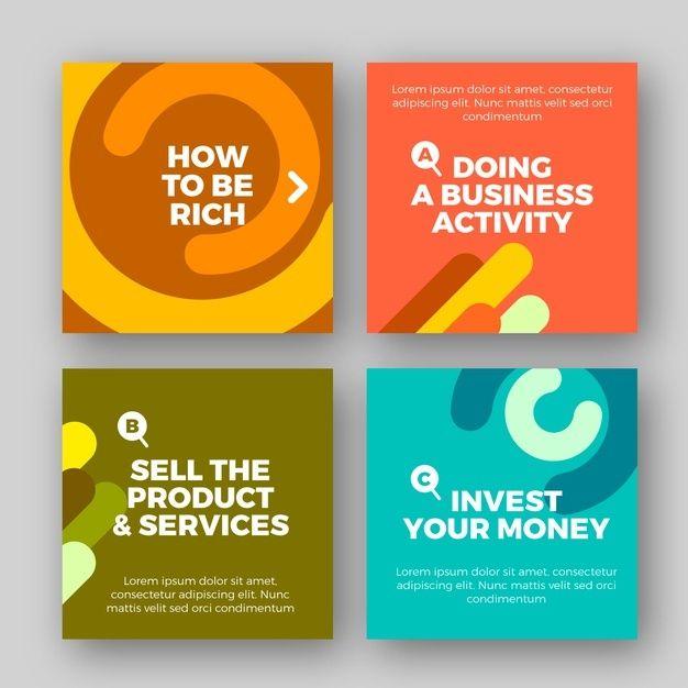 Tips Instagram Post Collection Free Vector Freepik Freevector Business T In 2020 Social Media Design Graphics Social Media Design Inspiration Social Media Design