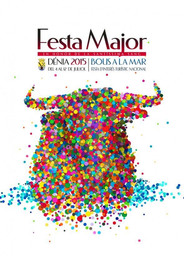 Cartel Fiesta Mayor Dénia 2015