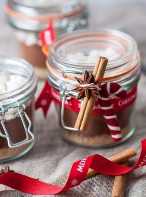 Spiced hot chocolate kit - Frances Atkins