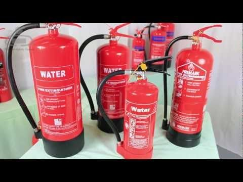 ▶ Types of Fire Extinguisher and their uses. - YouTube