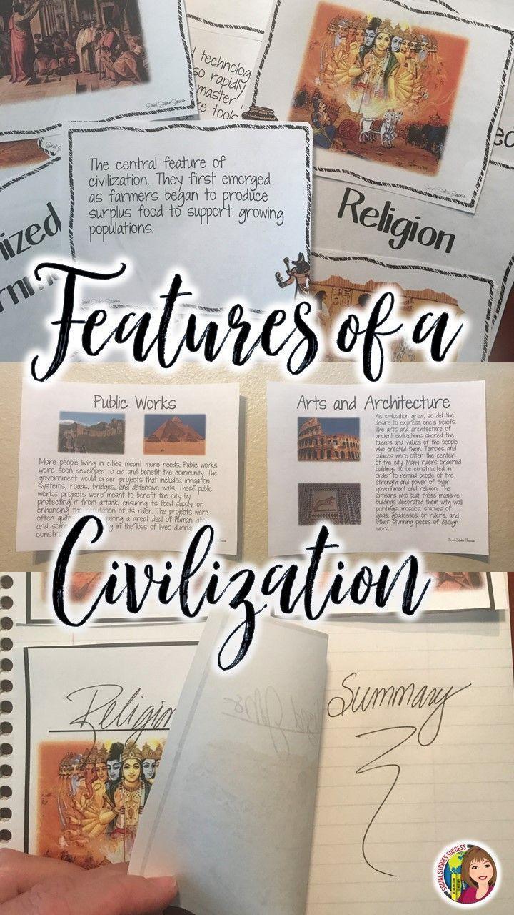Features of a Civilization