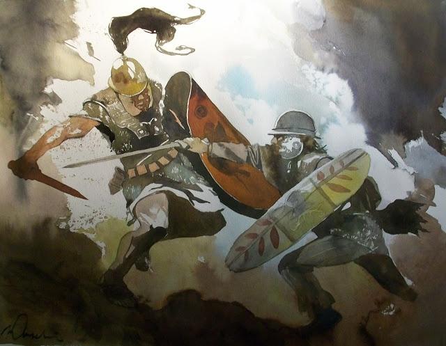La guerre des Gaules: Warriors