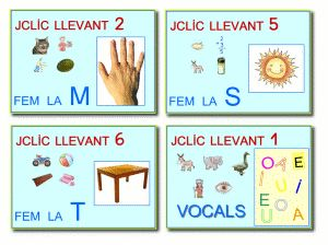 zonaClic - actividades - Aprenentatge de la lecto-escriptura
