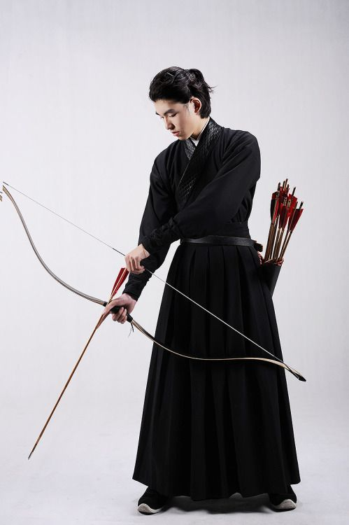 "changan-moon: "" Traditional Chinese hanfu for archery by 夏雪憶夢 """