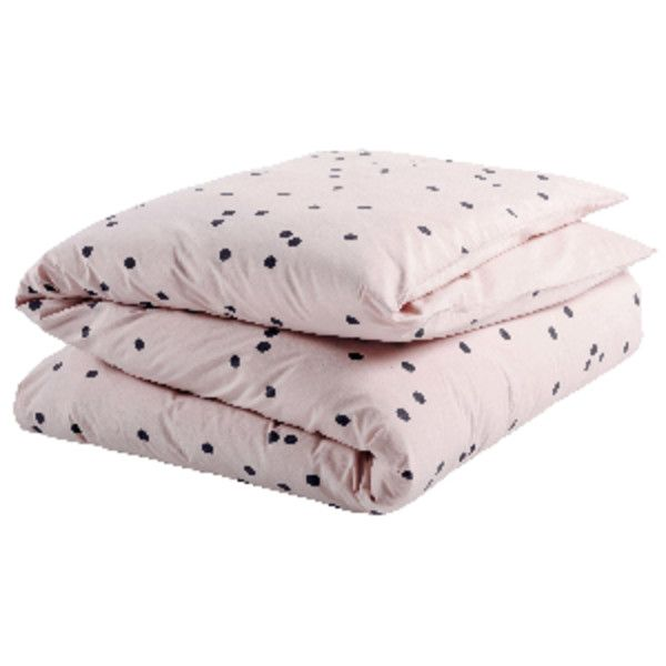 Biscuit Odette Single Duvet Cover ($110) ❤ liked on Polyvore featuring home, bed & bath, bedding, duvet covers, neon bedding, polka dot pillow case, french pillow cases, french bedding and polka dot pillowcases