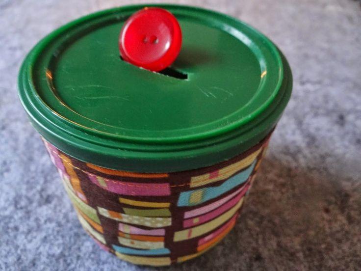 Kleinkind-Spielzeug selbstgemacht, Steckspiel nach Montessori-Pädagogik, was aus einer alten Dose alles werden kann