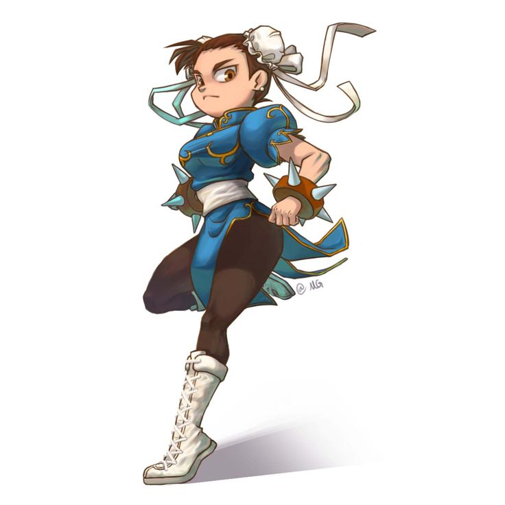 2016.04.01_Fan art, Street_Fighter, Chun Li _@Mallang