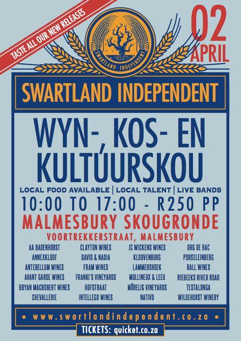 02.04.2016 - WYN-, KOS- EN KULTUURSKOU - SWARTLAND INDEPENDENT #wine #SouthAfrica
