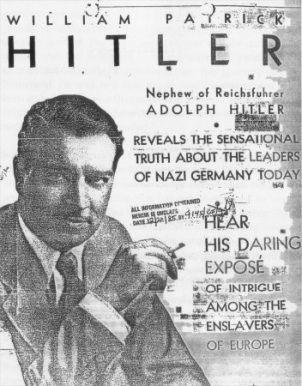 William Patrick «Willie» Hitler var Hitlers nevø og kjempet på amerikansk side under andre verdenskrig.