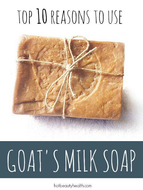 Goat milk soap has many benefits to promote healthy skin whether you suffer from dryness or acne. Click here to see all 10!