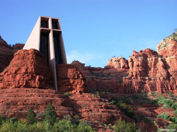 Rock chappel in #Sedona, Arizona