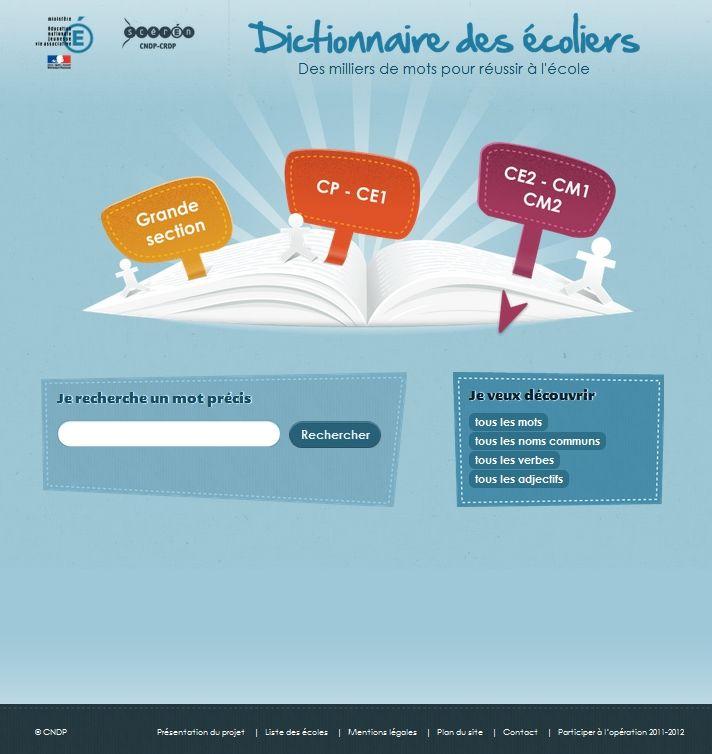 Un dictionnaire en ligne créé par des enfants et pour les enfants du primaire.