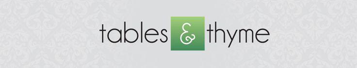 Tables & Thyme Food Blog Logo Design