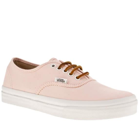 vans rose pale