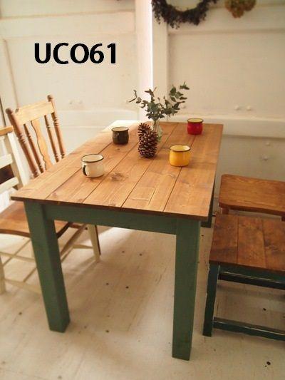 - UCO61 ハンドメイド家具 シャビー・アンティーク風家具