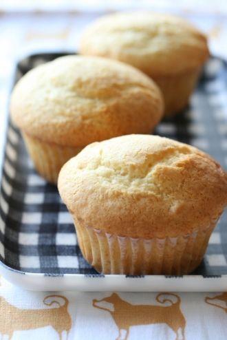 溶かしバターのほわほわミルクマフィンのレシピ   キッチン   パンとお菓子のレシピポータル