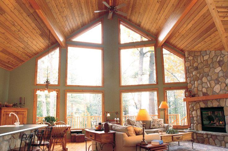 17 Best Prow Windows Images On Pinterest Log Homes
