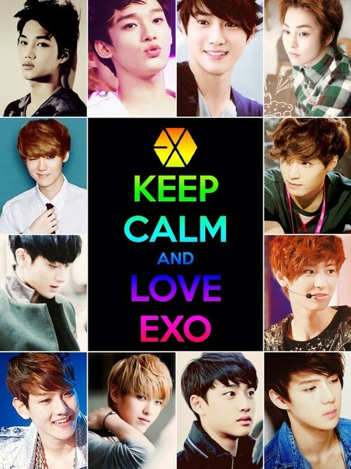 Exo ok!!! I will love them ^_^