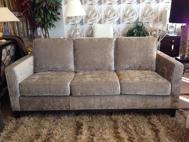 Now In Store At #LUXE #Ottawa: This Gorgeous #Whittington U0026 Co Custom ·  Upholstered SofaOttawa