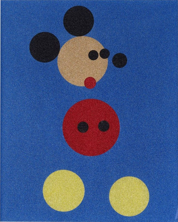 Mickey by Damien Hirst. Artist Damien Hirst Mickey mouse print for sale. Buy Hirst art work, screen prints, paintings online NYC gallery.