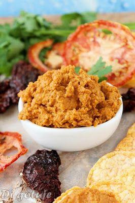 Di gotuje: Hummus z suszonymi pomidorami