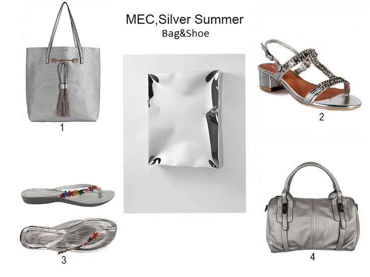 MEC:Buongiorno A tutti!  Trend: Metal/Silver Summer! Shop:http://www.mecshopping.it/shop/