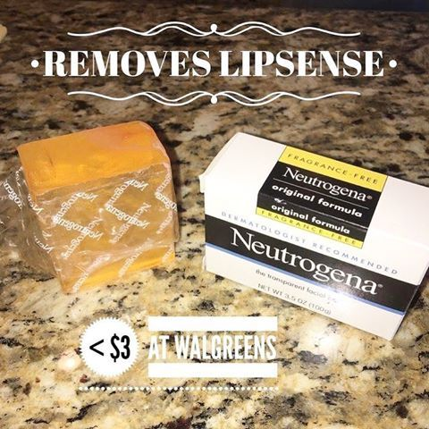 "People ask me all the time ""But, how do I get it off?"" It's easy! Each Starter Kit comes with an Oops Remover for correcting mistakes, cleaning up your lines, and removing the product. However, an even quicker removal method is this Neutrogena Face Bar. It costs less than $3 at drug stores, and with a damp cotton pad takes your LipSense off in seconds!  After a few hours of wear, your LipSense will also come off with warm water, a wash cloth, and a little scrubbing.   #LieslsLipLove…"