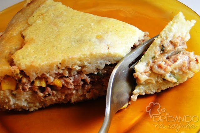 Brisando na Cozinha: Torta restodontê (massa de arroz)