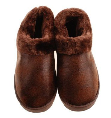 Colorfulworldstore Suede Hot stamping gold winter warm plush slippers-men&women's boots Shoes-house shoes-6colors (CN40/41-26CM, Man-Coffee) Colorfulworldstore. $27.86