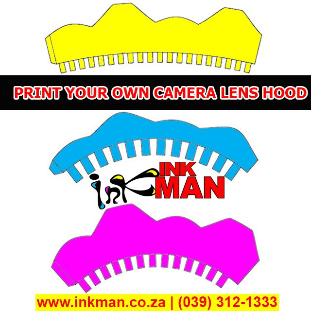#Learn how to Create a #Camera #Lens Hood here! #INKman #Margate #SouthAfrica http://bit.ly/1lf6hq4
