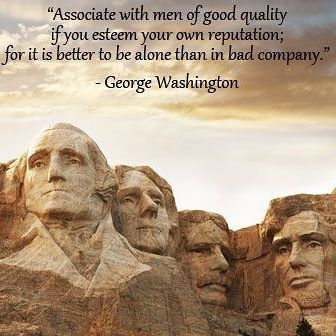 Top 100 george washington quotes photos ~ Quality first ~ • • • • • • #georgewashington #quote : #associate with #men of #good #quality #invest #time #future #dreams #better #own #reputation #dreamscometrue #learn #Entrepreneurlife #Entrepreneurship #entrepreneur #ceo #bosslife #follow4follow #firstneverfollows #positivity #win #notimeforlosers #wecan #doit See more http://wumann.com/top-100-george-washington-quotes-photos/