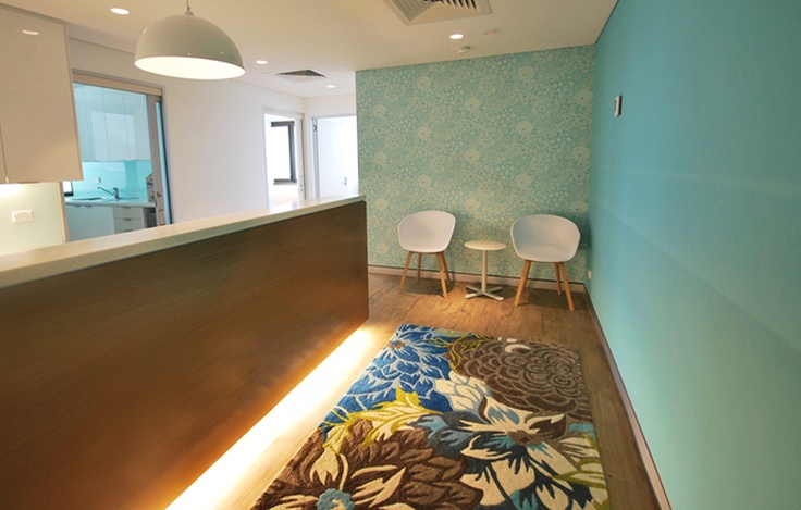 Yet another glorious custom rug to get you all excited – this one being the creation of KDW Design in West End, Qld. The beautiful colours of the custom Lulu rug in this specialist's practice create such an inviting and comfortable atmosphere for patients…  amazing choice in colour and design KDW!! #TheRugCollection