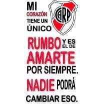 Vinilos Frases De Futbol + Clubes (pque Chacabuco)