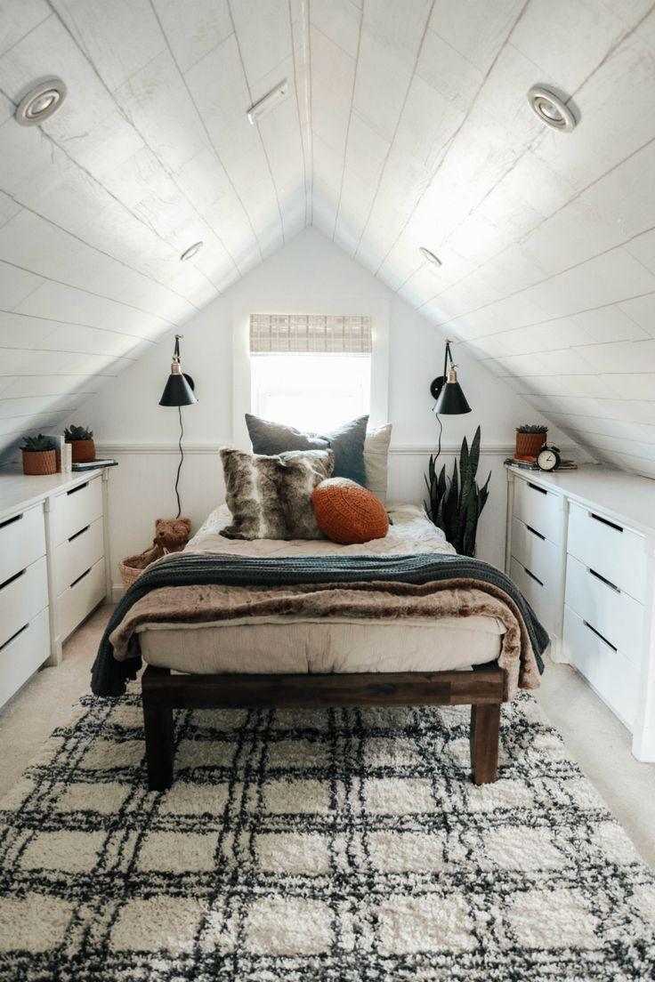 19+ Decorating a small attic bedroom inspirations