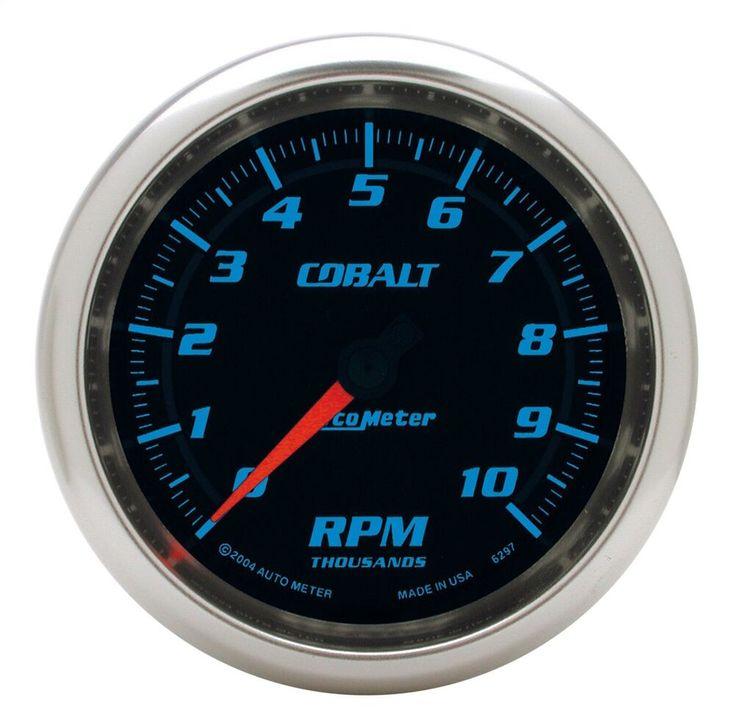 Sponsored Ebay Autometer 6297 Cobalt In Dash Tachometer 10k Rpm