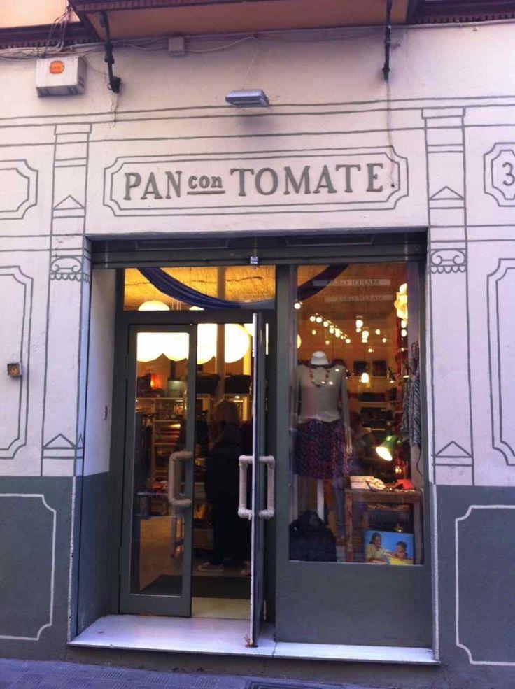 Pan con tomate tienda de ropa en sevilla pan con tomate - Ropa vintage sevilla ...