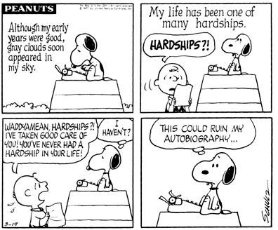 March 19, 1970 - autobiography