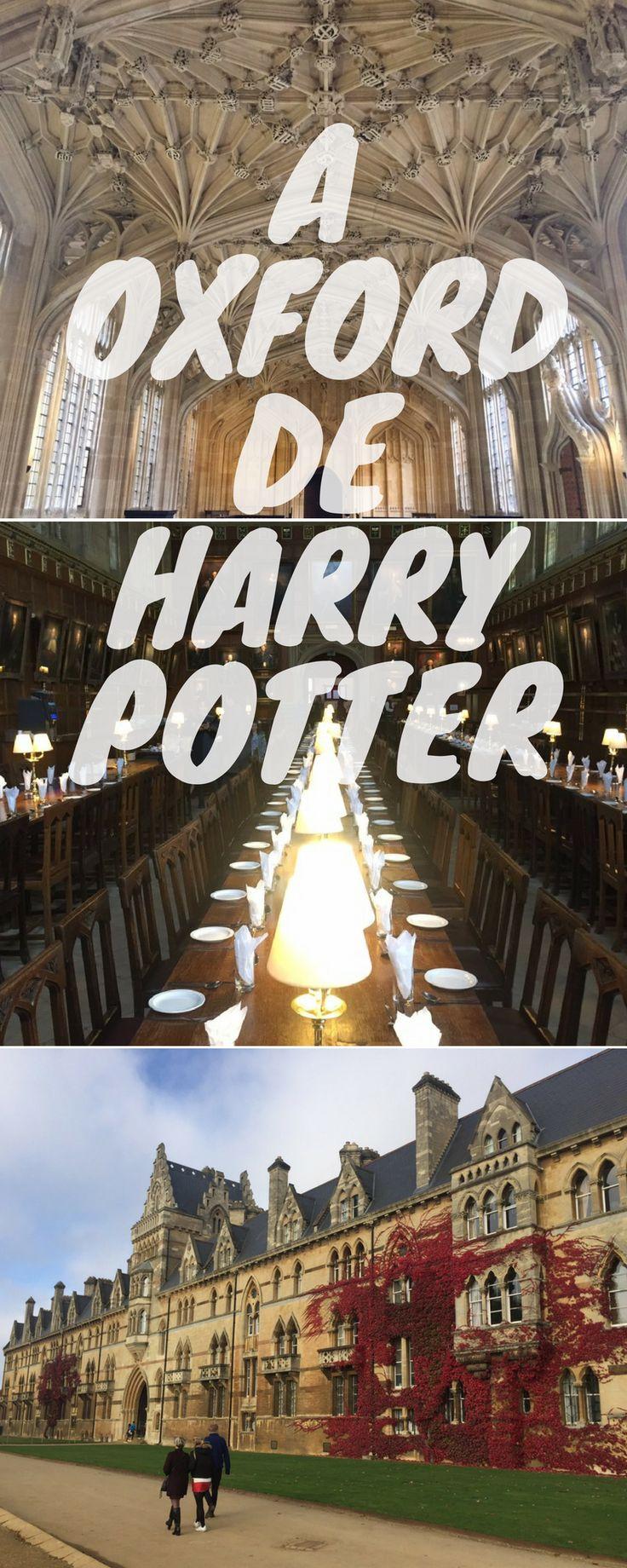 Quando planejar sua viagem para Oxford, não deixe de visitar os locais onde foram gravados os filmes do Harry Potter.