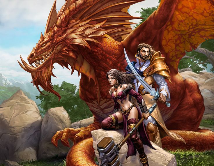 Dragon Nagafen from EverQuest Next