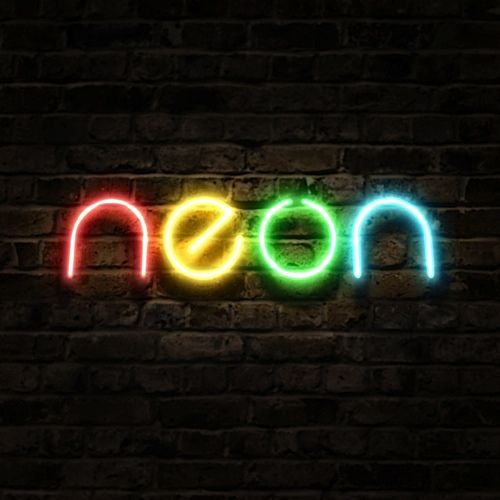 Neon Fluor Colours Lights!!! Bebe'!!! Love the vivid colors!!!
