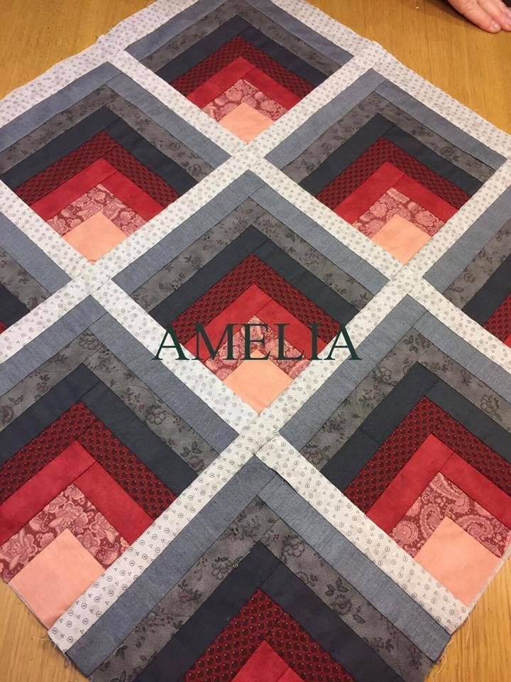 Rustikale Kabine Quilt Patterns New 900 Best Quilts Blockhaus Variationen Bilder auf P …