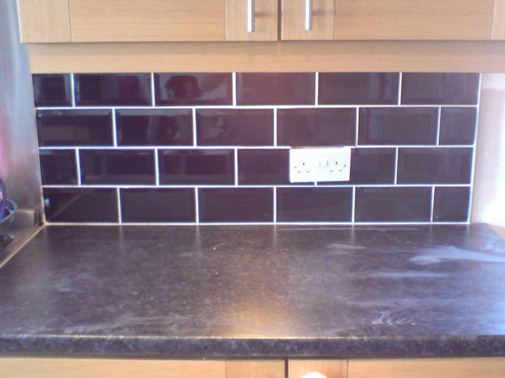 17 best images about kitchen ideas on pinterest new - Purple kitchen wall tiles ...