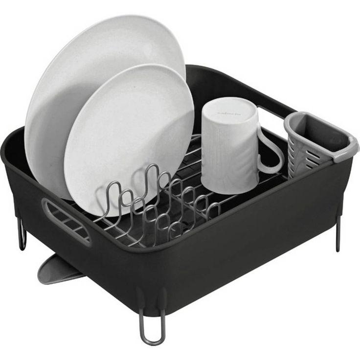 images?q=tbn:ANd9GcQh_l3eQ5xwiPy07kGEXjmjgmBKBRB7H2mRxCGhv1tFWg5c_mWT Kitchenaid Compact Stainless Steel Dish Rack - Satin Gray