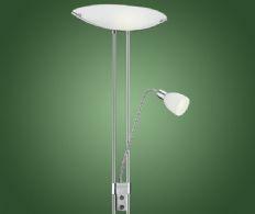 Gulvlampe med Uplight og Læselampe