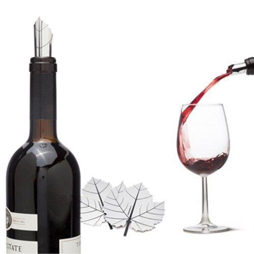 Wine Gifts 2 Aluminum Poure Premium Original Design Lifestyle Home Bar Party