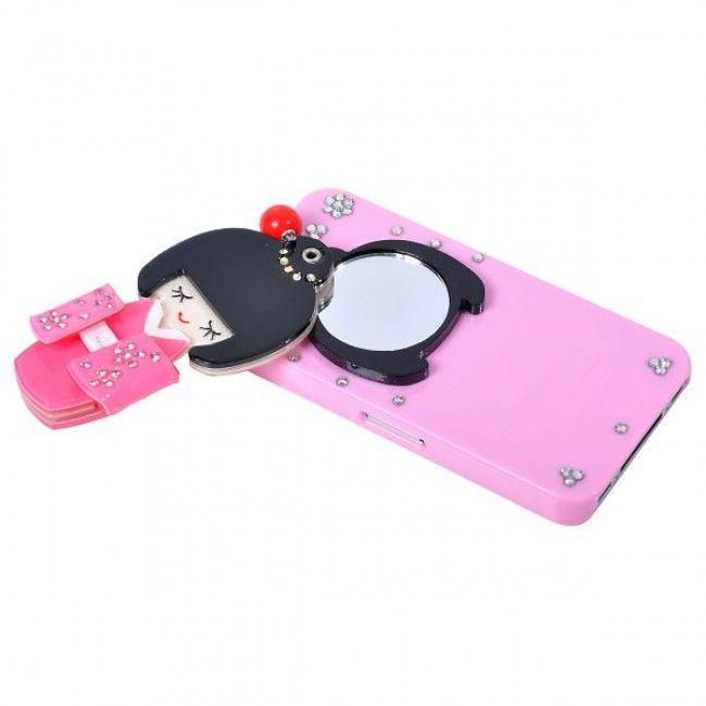Kimono (Pinkki) iPhone 4 / iPhone 4S Suojakuori - http://lux-case.fi/kimono-vaaleanpunainen-iphone-4-4s-suojakuori.html