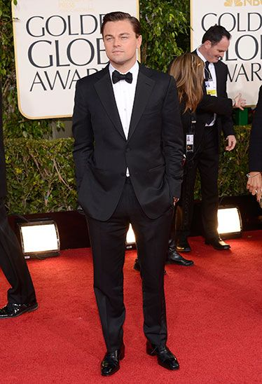 Leo Dicaprio in Tom Ford at the Golden Globes 2013